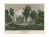 Strawberry Hill  Twickenham  London; the Seat of Countess Dowager Waldegrave