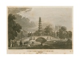 The Chinese Pagoda and Bridge Erected over the Canal in St James's Park as it Appeared on 1…
