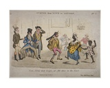 Figures Drinking Amd Dancing at the Coach and Horses on Nightingale Lane  Illustration from 'Life…