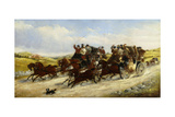 A Liverpool to Manchester Race with a Hunt Beyond  1880