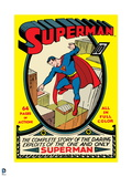 "Superman: Supeman ""The Complete Story of the Daring Exploits of the One and Only Superman"" No1"