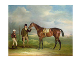 The Duke of Cleveland's 'Chorister'  Held by Trainer John Smith with Jockey John Day Snr  at…