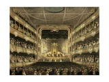 Covent Garden Theatre  1808  from 'Ackermann's Microcosm of London' Engraved by J Bluck…