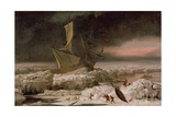 Arctic Adventure  or a Ship in Distress Off Greenland  C1677