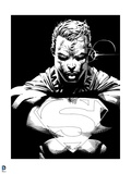 Superman: Superman Laser Vision (Black and White)