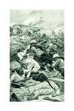 The Highlanders Storming a Redoubt at the Battle of Tel El Kebir