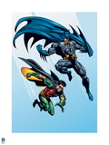 Batman: Batman and Robin Jumping