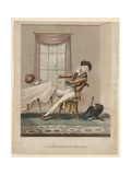 A Most Infernal Bad Egg  Print Made by H Pyall  C1825