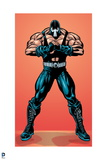 Batman: Bane Standing with Legs Apart and One Hand in a Fist Covered by the Other Hand