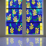 'Tree of Life' Stained Glass Behind the Altar in the Chapel of the Rosary at Vence  1948-51