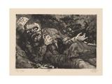 Verwundeter (Herbst 1916  Bapaume) Plate 6 from the Portfolio 'Der Krieg'  1924