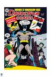 Batman: Cover Batman and Robin 30 Years of Comics Batman Holding Comics