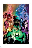 Green Lantern: Blackest Night No 4 Cover (Color)