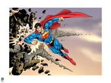 Superman: Superman Smashing Rock