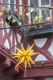Half-Timber Hotel and Restaurant  Christmas Star  Miltenberg  Germany
