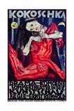 Pieta  Poster for 'Murderer  Hope of Women'  at Summer Theater at Internationale Kunstschau  1909
