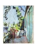 The Terrace, St. Tropez, 1904 Giclée par Henri Matisse