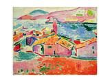 View of Collioure, c.1905 Reproduction d'art par Henri Matisse