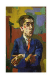 Self Portrait with Crossed Arms  1923