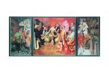 'Grosstadt' (Urban Debauchery) 1927-28 (Triptych)