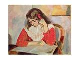 The Reader  Marguerite Matisse  1906