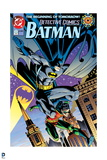 Batman: Cover Batman and Robin Jumping Down