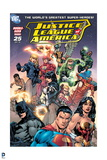 Justice League: Justice League America No 25 (Color)
