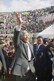 Nelson Mandela in Japan