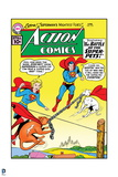 "Superman: Action Comics - Superman  Supergirl  Streaky  Krypto in ""The Battle of the Super-Pets!"""