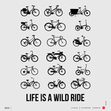 Life is a Wild Ride Poster I