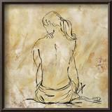 Nude Sketch on Beige II