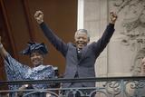 Nelson Mandela in France in 1990