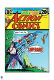 Superman: Action Comics Cover - This Is a Job for Superman! Clark Kent to Superman Transformation