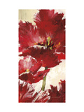 Jubilant Red Tulip Panel 2