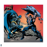 Batman: Batman Fighting Bane