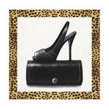 Black Shoe and Purse
