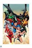 Justice League: the Justice League Charging