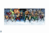 Justice League: Aquaman  Martian Manhunter  Hawkman  Hawkgirl  Firestorm  Jade  and Others