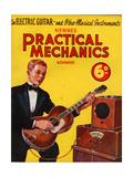 1930s UK Practical Mechanics Magazine Cover