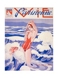 1930s France La Vie Parisienne Magazine Cover