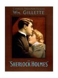 1900s UK Sherlock Holmes Poster