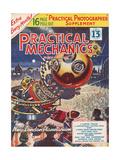 1950s UK Practical Mechanics Magazine Cover