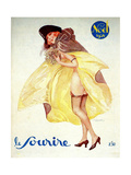 1920s France Le Sourire Magazine Cover