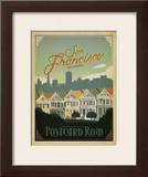 San Francisco  California: Postcard Row