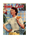 1950s UK Home Chat Magazine Cover