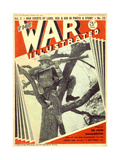 1940s UK The War Illustrated Magazine Cover
