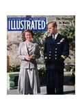 1940s UK Illustrated Magazine Cover