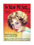 1930s USA The New Movie Magazine Magazine Cover