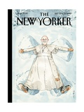 Snow Angel - The New Yorker Cover  December 23  2013