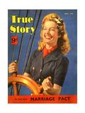 1940s UK True Story Magazine Cover